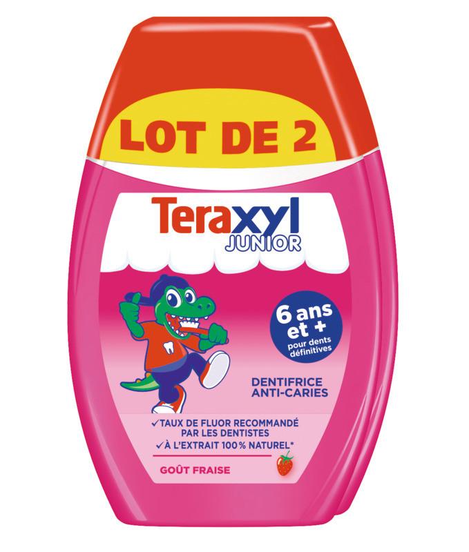 Teraxyl  - Dentifrice junior 2e1