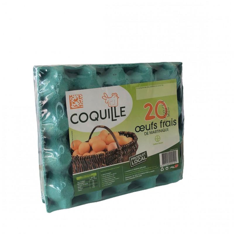 Coquille - Œufs frais locaux